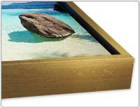 schattenfugenrahmen f r leinwand in premium qualit t. Black Bedroom Furniture Sets. Home Design Ideas